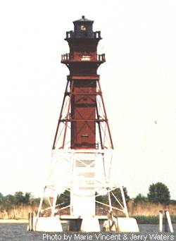 Craighill Channel Lower Range Light Rear