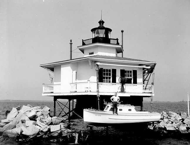 Cherrystone Bar Lighthouse