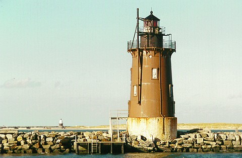 Delaware's Inner Breakwater Light