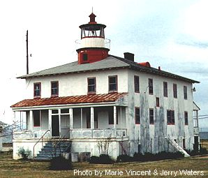 Point Lookout Light is an example of an intregal design