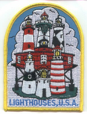 Lighthouses USA Patch!